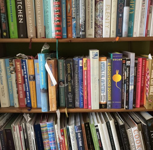 My Love Affair With Cookery Books