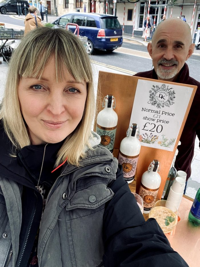 Alli & Neil at Frome Farmers Market
